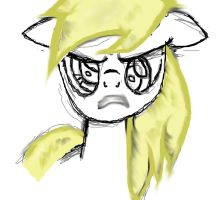 Derpy: My third piece -:Finished:- by Scarred-Brit-VG