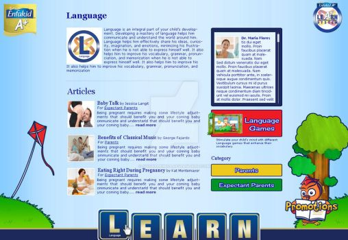 Learning Website by squallrinoa