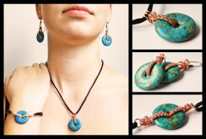 Turquoise Set by oasiaris
