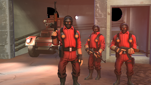 The Red Mercs by PaladiumEarth