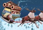 Heal and Fly with Santa by whiteguardian