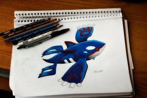 Kyogre by NChicaGFX