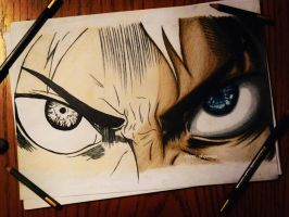 Eren progress by DoreiShounen