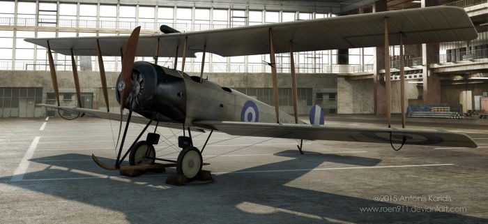 Greek Airforce AVRO 504K by rOEN911