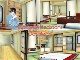 Washitsu - Japanese bedrooms - Download by kaahgome