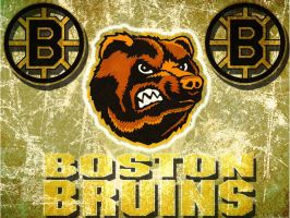 Boston Bruins Ice by TDProductionStudios