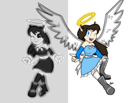 Alice Angel: Then and Now by SonicExp626