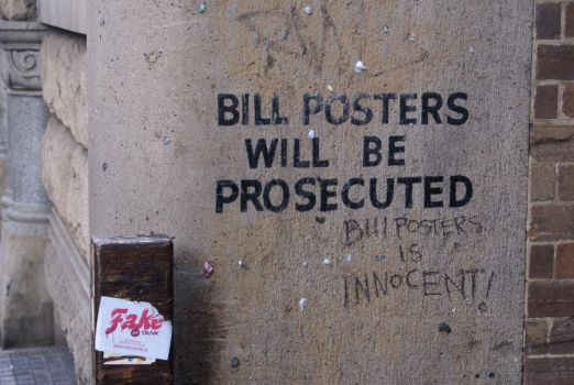 Bill Posters is Innocent by Insanity540