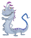 Monsters Inc./Uni OC - Silvester 'Silver' Boggs by FaithFirefly