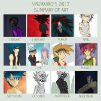 2012 Summary of Art by NinjaXaro
