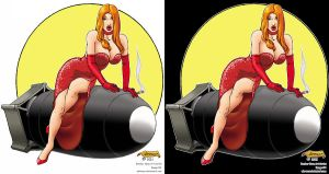 Nose Art Series 1 Circle Four by WBreaux