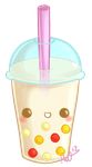 Cute Bubble Tea by Metterschlingel