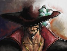 Mihawk - One piece by x-SAgi-x