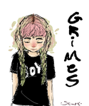 Grimes by dookia