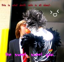 Light and Ryuk Kiss Cosplay by SpiritedxDefeat