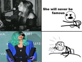 She will never be famous??? by Fpf5