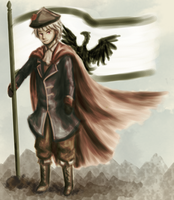 APH- Prussia Speedpaint by Frostpebble