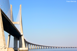 Vasco da Gama Bridge by kosmipt