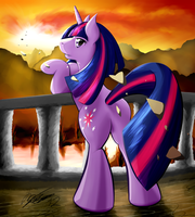 The Verge of Twilight by RubyHoof