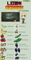 Learn German - Obst / Vegetables by TaNa-Jo