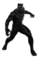 Black Panther by cptcommunist