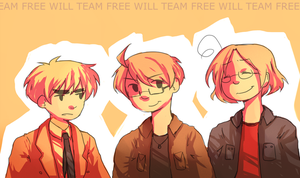 TEAM FREE WILL by AeroEiko