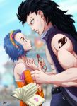 Gajeel and Levy Fairytail by Igriel