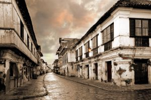 old houses by jerishoots