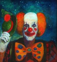 Creepy the Clown by LauraWilde