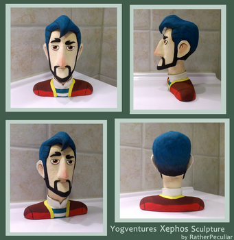 Yogventures Xephos Sculpture FINISHED by RatherPeculiar