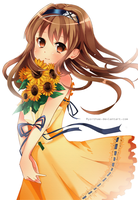 Summer [Sunflower] by Ryo-Thae