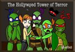 TMNT in Disneyland- Tower of Terror by ProjectAnimation
