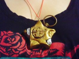 Steampunk Star Necklace by EllenorMererid
