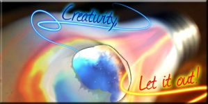 Creativity, Let It Out by Chinchilla-Man