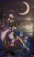 Ship of Starry Nights by Kerahna