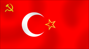 Commies flag of Turkey by AY-Deezy