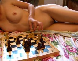 A little Chess play with myself by Mallown