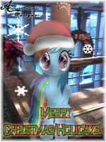 Rainbow Dash Wishes You All a.. by AlaxanderTheGreat