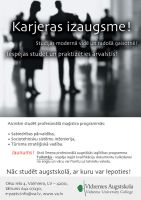 Ad for Vidzeme University by Indriks