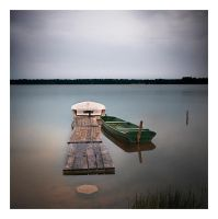 parked boats by anoxado