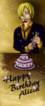 Commission: Sanji Birthday by IcyPanther1