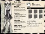 Monster High profile: Rhoda by Alias-Hugo