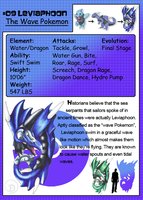 Fakemon: Leviaphoon by JaDisArt