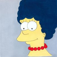 Marge Simpson by 12jack12