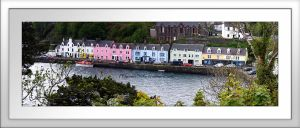 Panorama - Portree by printsILike