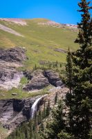 Waterfall at 9,000 Feet.... by lil-Mickey