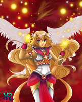 Sailor Star Dazzle Imperial Form 2015 by HatterRose