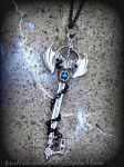 OBLIVION AUCTION Keyblade pendant by ArtByStarlaMoore