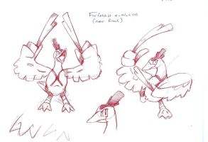 Farfetch'd evo concept by foliap
