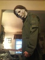 Michael Myers by wolfteen96